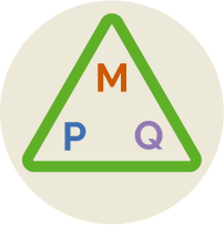 PQM Model Triangle icon